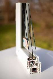 Kunststoff-Fenster, Querschnitt