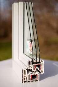 PVC/Alu-Fenster, Querschnitt