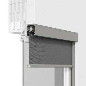 Rollladenfenster Zipscreen, Querschnitt