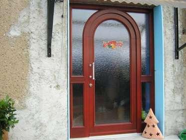 Eingangstür Holz