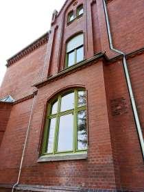 Denkmalgerechte Erneuerung Holzfenster mit Rollläden, Fabrikantenvilla, Cottbus; 2016