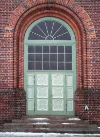 Kirchentür aus Eiche