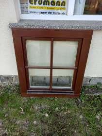 Holzfenster, 1flg, ca. 90x100cm